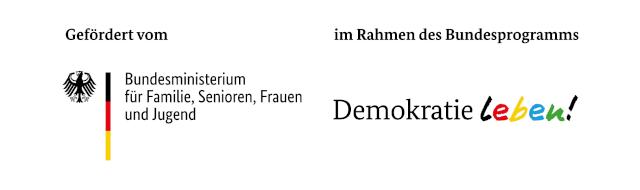 Logo BMFSFJ / Demokratie Leben